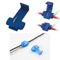 Conector Elétrico Derivação Azul - Pacote Com 100 Peças