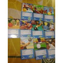 Loucura 11 Cartões Da Rara Série Superbola Da B.telecom