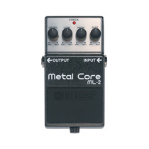 Pedal Boss Metal Core Ml-2 P/ Guitarra Novo Original Nfe