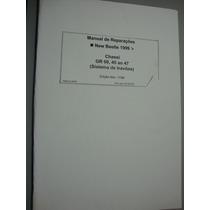 New Beetle Manual Reparos Freios Rodas Freio De Mao Original