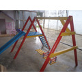 Playground Junior Com 2 Balanços E 1 Escorregador