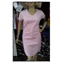Vestido Sarja Acetinada Moda Plus Size - Frete Grátis!
