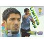 Cards Copa 2014 Adrenalyn Suarez Uruguai Limited Edition