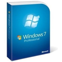 Windows 7 Professional 32/64 Bits - Original ® Fpp Vitalicia