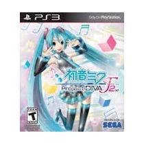 Hatsune Miku Project Diva F 2nd - Midia Digital Original