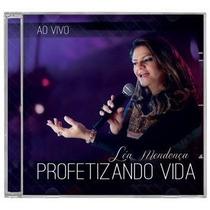 Cd-léa Mendonça > Lançamento-profetizando Vida