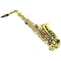 Sax Alto Harmony Saxofone - Com Estojo - Pronta Entrega