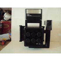 Maquina Fotografica Fuji Instant Back Pa-1 6 Lentes Antiga