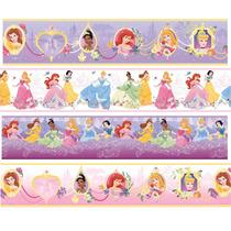 Faixa Border Decorativa Infantil Princesas Disney