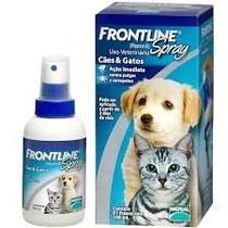 Frontline Spray Plus Cães Gatos Anti Pulga Carrapato 100ml