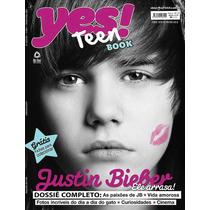 Revista Justin Bieber Rara! = Yes Teen Book Yesteen Lacrada!