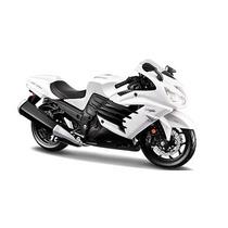 Miniatura Moto Kawasaki Ninja Zx-14r Branca 1:12 Maisto