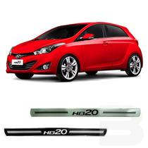 Soleira Resinada Hb20 E Hb20s Hyundai Kit 4 Peças