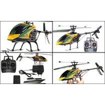 Helicóptero Rc Wltoys V912 4ch Gyro 2.4ghz - Envio Imediato