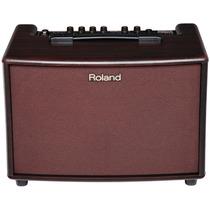 Cubo Amplificador De Violão Roland Ac-60 Rw + Bag