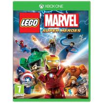 Lego Marvel Super Heroes Xbox One Lacrado Português Original