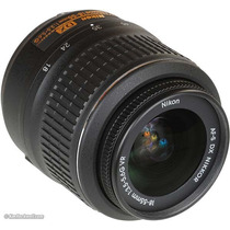 Lente Nikon Nikkor 18-55mm F/3.5-5.6g Vr - Mercadoplatinum