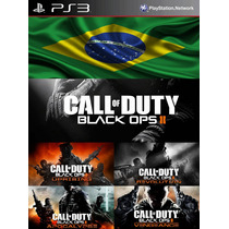 Call Of Duty Black Ops 2 Português Brasil + 4 Dlc Pack Mapas