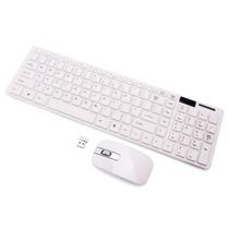 Kit Teclado + Mouse Wireless S/ Fio 2.4ghz Smart Tv Pc Note