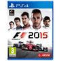 F1 2015 Ps4 Mídia Física Em Português / Envio Rápido