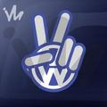 Adesivo Vw Volkswagen Maozinha Paz Amor Gol Golf Euro