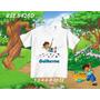Camiseta Infantil Diego Go/ Personalizada - Dora Aventureira