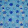 Toalha Mesa Frozen - Descartável Plástica Flocos De Neve 10u