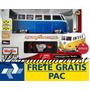 Kombi Volkswagen Van Samba Maisto 1:24 C. Remoto + Brinde