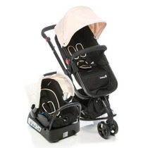 Carrinho Bebê Travel System Mobi Safety1st Beige Light Lindo