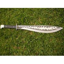 Frete Gratis Facão Espada Lâmina Trabalhada