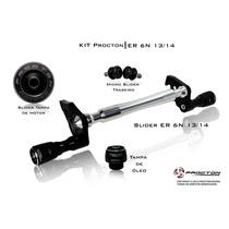 Kit Slider Procton Racing Kawasaki Er6n 2013 2014 - Completo