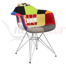 Cadeira Mila Petunia Patchwork- Cozinha/jantar/gourmet/lazer
