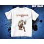 Camiseta God Of War Jogos Games Ps3 Ps4 X-box Deus Da Guerra