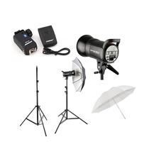 Kit P/studio Fotografico 600w Profissional Greika Apolo 110v