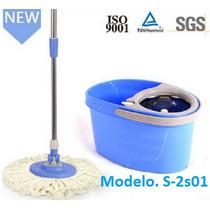 Spin Mop, Com Cesto Em Áço Inóx
