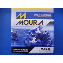 Bateria Moura Titan 5ah Cg125/ Fan 150 Mix Biz 125 Xre300