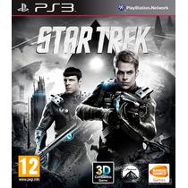 Jogo Ps3 - Star Trek (somente Mídia Física/leia!)