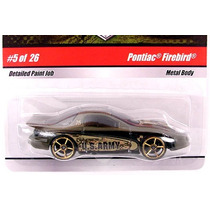 Hot Wheels Military Rods Pontiac Firebird (lacrado, Raro)