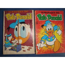 Almanaque Do Pato Donald Nº 1 E 5 - Lote Com 2 Un.