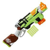 Lançador De Dardos Nerf Zombie Strike Slingfire Hasbro