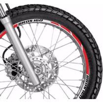 Friso Adesivo Refletivo Roda Tuning M4 Moto Honda Bros 160