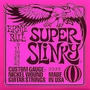 Encordoamento Ernie Ball - Guitarra 009 - Super Slinky 09-42
