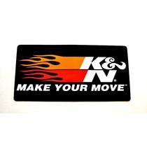 Adesivos K&n Make Your Move Originais Import Frete Grátis