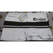 Cuecas Boxer Ocean Sem Costuras Kit/ 12unidades