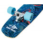 Simulador De Surf Long Swingboard Skate Carver Mormaii Azul