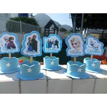20 Lembrancinhas Frozen Dora Barbie Gata Marie E Princesas