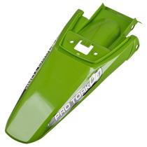 Paralama Traseiro Pro Tork Modelo Crf 230 Verde Motocross