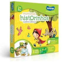 Jogo Quebra Cabeça Educativo Montando Historinhas - Toyster