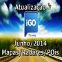 Atualização Gps Igo 2014 - Igo8, Primo, Amigo 3 Navegadores