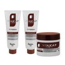 Vitalcap - Kit Shampoo Condicionador E Máscara